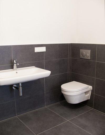 Badausbau in einer Maisonettewohnung, Berlin