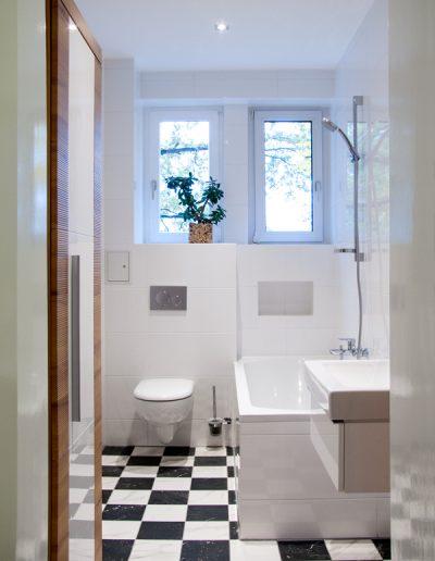 Badausbau und Modernisierung in einem Einfamilienhaus, Berlin
