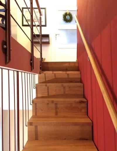 Treppeneinbau in einem Haus, Berlin