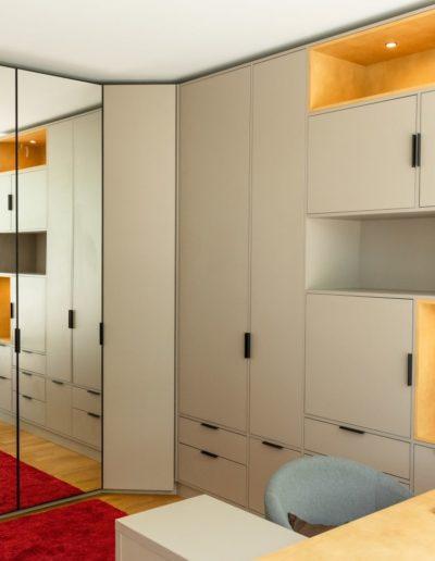 Innendesign und Möbelbau in Büroräumen in Berlin