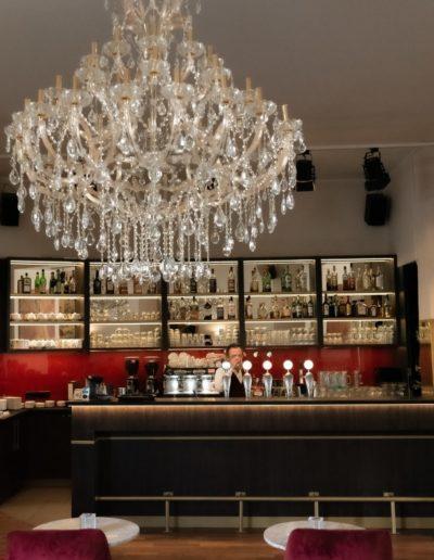 Innendesign und Ladenbau im Restaurant in Berlin